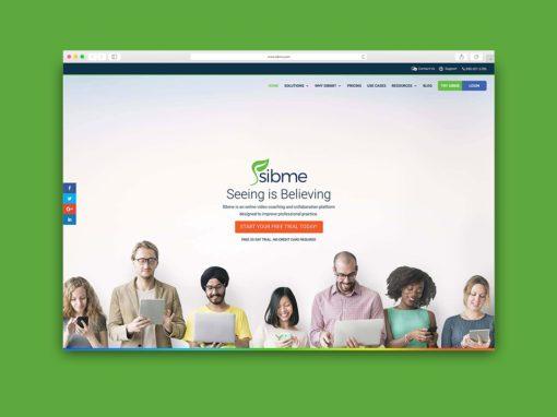 Re-Branding and Website: Sibme