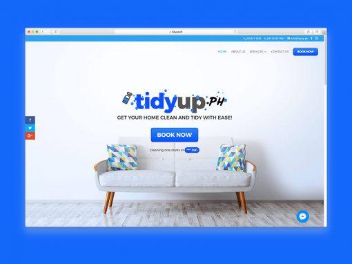 Logo and Website: TidyUp.ph